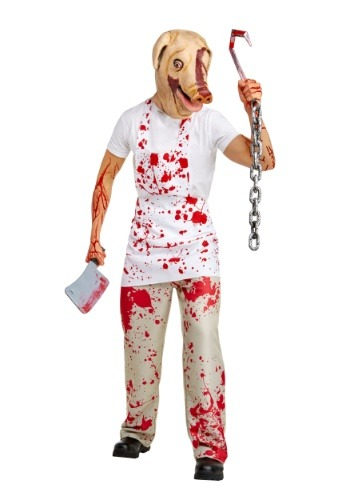 Click Here to buy Adult Piggy Man Costume from American Horror Story from HalloweenCostumes, CDN Funds & Shipping