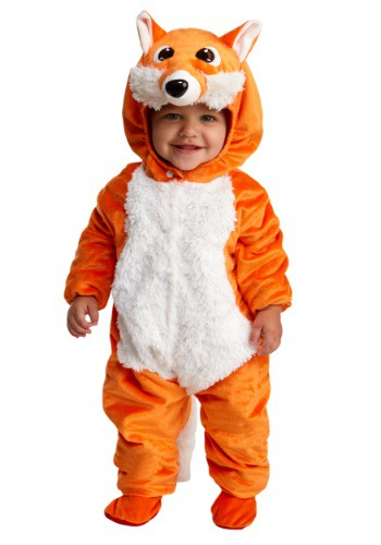 Click Here to buy Baby/Toddler Frisky Fox Costume from HalloweenCostumes, CDN Funds & Shipping