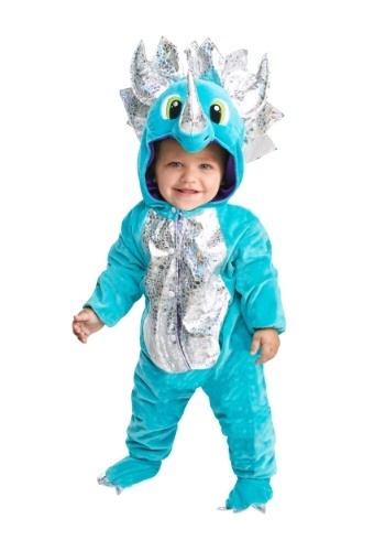 Click Here to buy Baby/Toddler Darling Dinosaur Costume from HalloweenCostumes, CDN Funds & Shipping