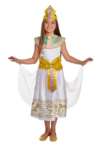 Click Here to buy Colorful Cleo Deluxe Girls Costume from HalloweenCostumes, CDN Funds & Shipping