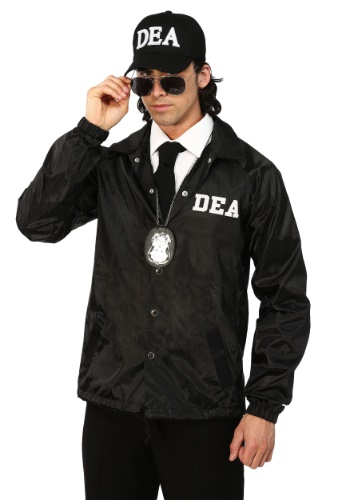 Adult Plus DEA Agent Costume