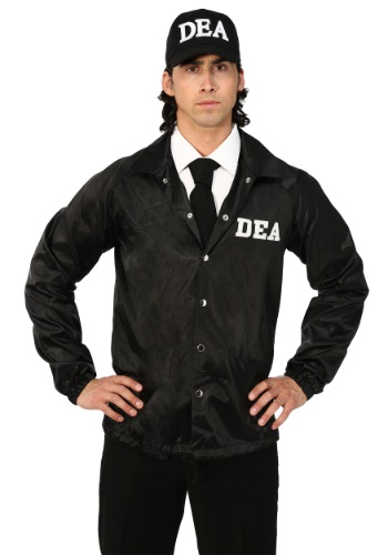 DEA Agent Adult Plus Size Costume