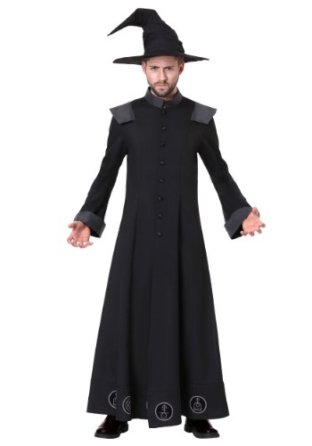 Click Here to buy Mens Plus Size Warlock Costume from HalloweenCostumes, CDN Funds & Shipping