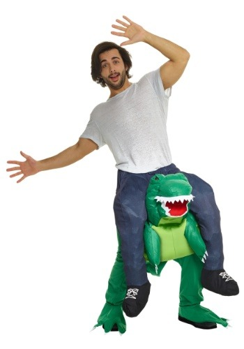 T-Rex Piggyback Costume for Men