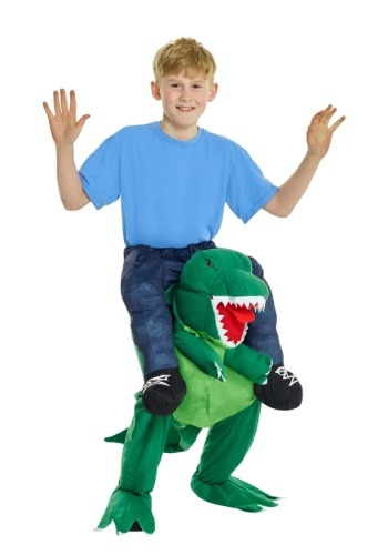 T-Rex Piggyback Costume for Kids