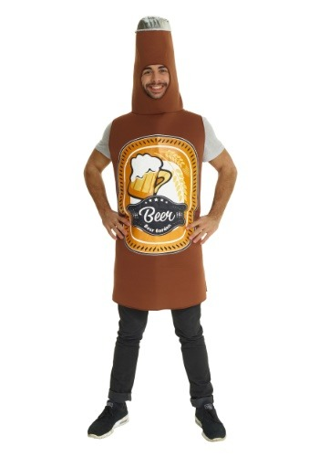 Click Here to buy Beer Bottle Mens Costume from HalloweenCostumes, CDN Funds & Shipping