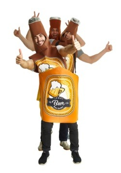 Beer Bottle Case Adult Group Costume