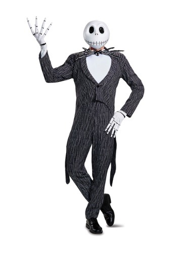 Jack Skellington Prestige Costume for Men