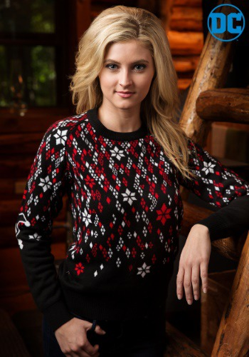 Harley Quinn Diamond Women's Sweater