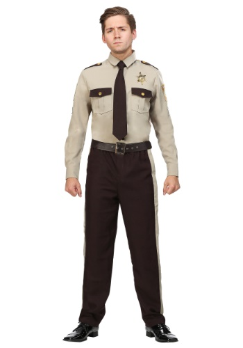 Click Here to buy Mens Sheriff Plus Size Costume from HalloweenCostumes, CDN Funds & Shipping
