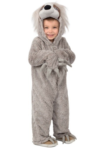 Click Here to buy Lil Swift the Sloth Costume for Toddlers from HalloweenCostumes, CDN Funds & Shipping