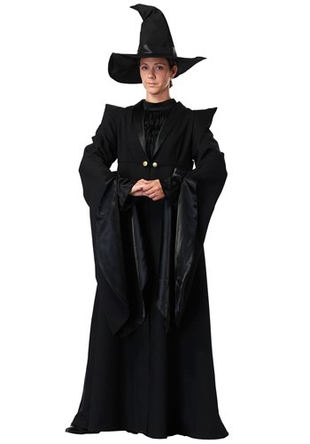 Deluxe Professor McGonagall Adult Size Costume | Wizard Woman