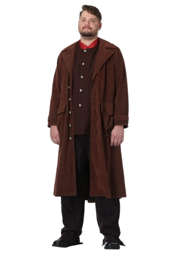 Harry Potter Deluxe Hagrid Plus Size Costume for Men