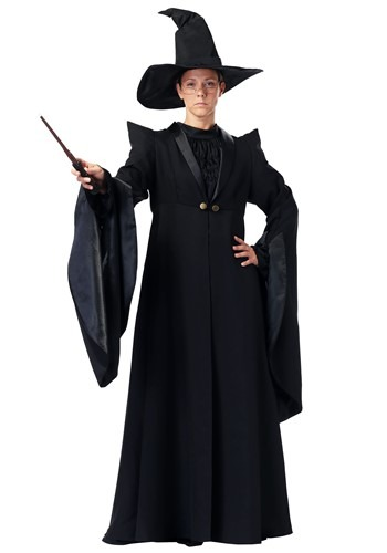 adult deluxe plus size professor mcgonagall costume. Black Bedroom Furniture Sets. Home Design Ideas