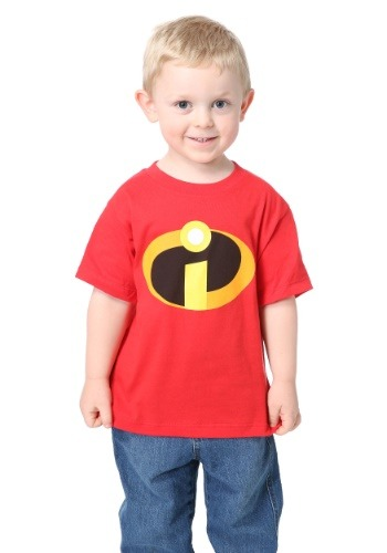 Click Here to buy Incredibles Costume Tee for Toddlers from HalloweenCostumes, CDN Funds & Shipping