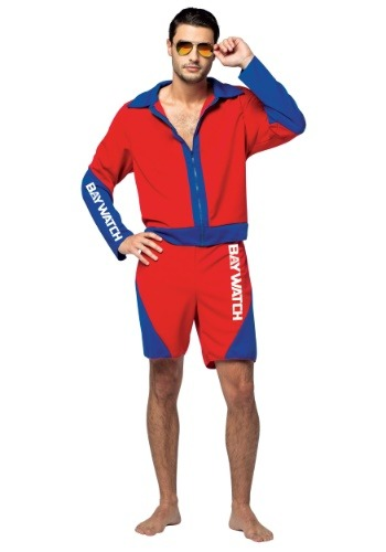 Adult Baywatch Mens Costume