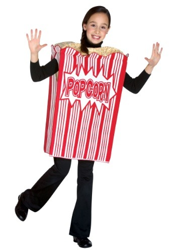 Popcorn Costume for Kids