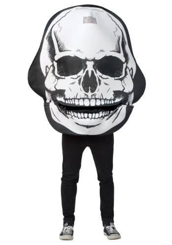 Skull Mouth Head Costume for Adults