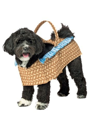 Doggie in a Basket Costume for Dogs