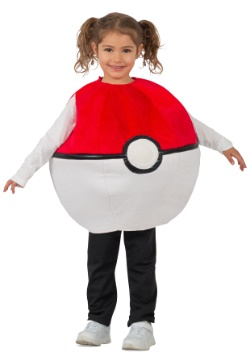 Pokemon Pokeball Kids Costume