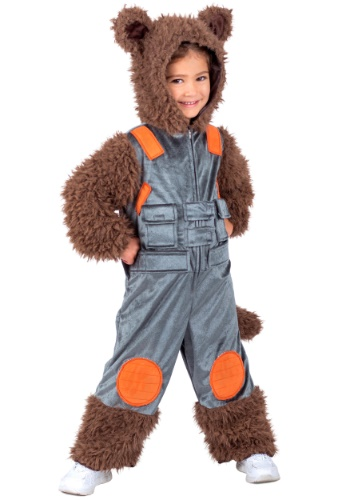 Click Here to buy Guardians of the Galaxy Rocket Raccoon Kids Costume from HalloweenCostumes, CDN Funds & Shipping