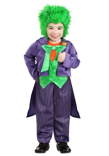 The Joker Costume for Toddlers