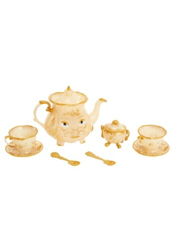 Beauty and the Beast Enchanted Tea Set