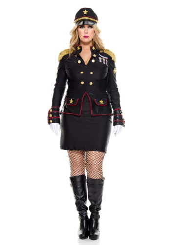 Click Here to buy Plus Size Military General Womens Costume from HalloweenCostumes, CDN Funds & Shipping