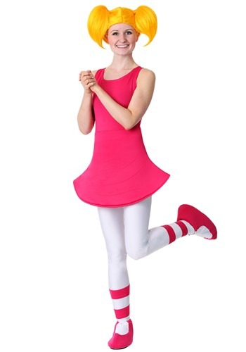 Click Here to buy Womens Dexters Laboratory Dee Dee Costume from HalloweenCostumes, CDN Funds & Shipping