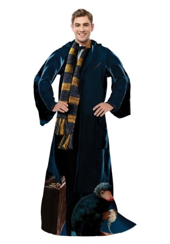 Fantastic Beasts Newt Adult Comfy Throw