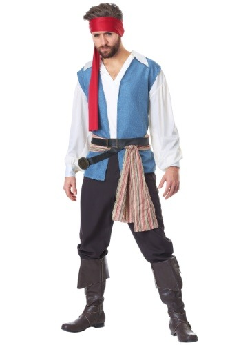 Sparrow Pirate Costume for Plus Size Men