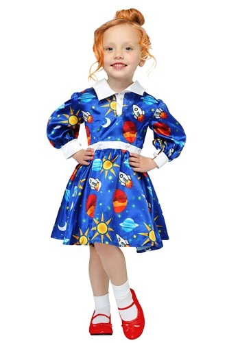 Click Here to buy Magic School Bus Ms. Frizzle Costume for Toddlers from HalloweenCostumes, CDN Funds & Shipping