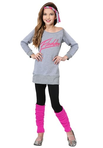 Click Here to buy Officially Licensed Kids Flashdance Costume from HalloweenCostumes, CDN Funds & Shipping