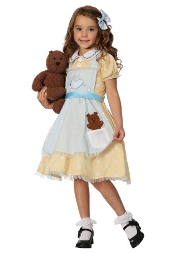 Click Here to buy Goldilock Girls Costume from HalloweenCostumes, CDN Funds & Shipping