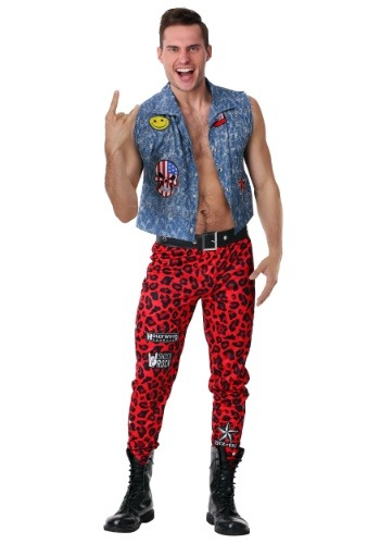 80s Rocker Mens Costume