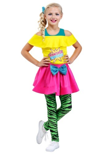 Valley Girl 80s Costume for Girls