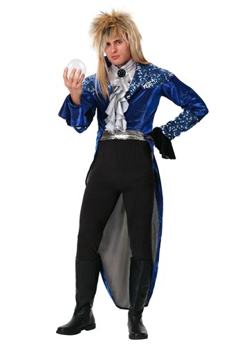 Click Here to buy Labyrinth Deluxe Jareth Adult Costume from HalloweenCostumes, CDN Funds & Shipping