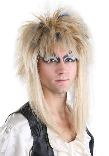 Click Here to buy Labyrinth Jareth Mens Wig from HalloweenCostumes, CDN Funds & Shipping