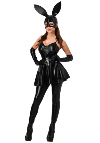 Click Here to buy Womens Sexy Vinyl Bunny Costume from HalloweenCostumes, CDN Funds