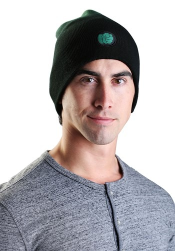 Click Here to buy Marvel Hulk Dip-Dye Slouch Knit Hat from HalloweenCostumes, CDN Funds & Shipping
