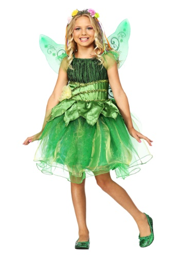 Click Here to buy Garden Fairy Girls Costume from HalloweenCostumes, CDN Funds & Shipping