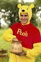 Winnie the Pooh Deluxe Adult Costume Alt 1