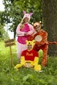 Winnie the Pooh Deluxe Adult Costume Alt 2