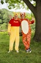 Winnie the Pooh Deluxe Adult Costume Alt 4