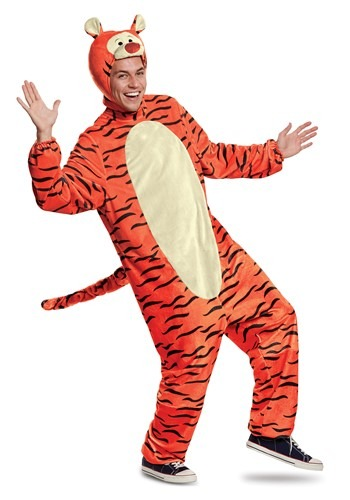 Winnie the Pooh Adult Tigger Deluxe Costume
