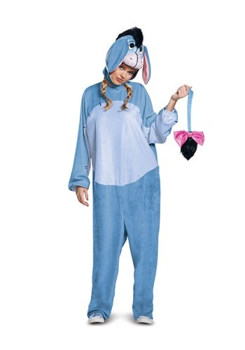 Click Here to buy Eeyore Deluxe Adult Costume from HalloweenCostumes, CDN Funds & Shipping