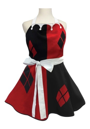 Women's Harley Quinn Fashion Apron