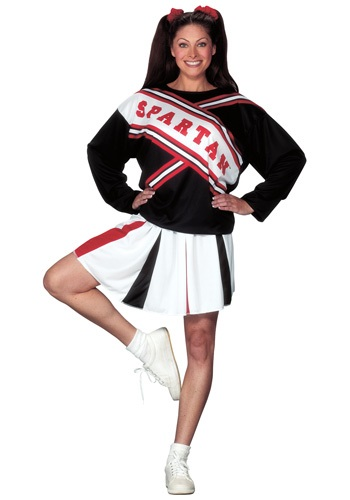 Click Here to buy Spartan Cheerleader Costume from HalloweenCostumes, CDN Funds & Shipping