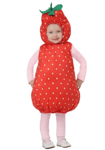 Click Here to buy Strawberry Bubble Costume for an Baby/Toddler from HalloweenCostumes, CDN Funds & Shipping