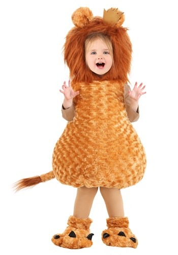 Click Here to buy Lion Bubble Costume for Baby/Toddler from HalloweenCostumes, CDN Funds & Shipping